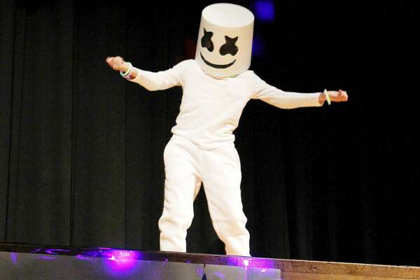 Gearing up for nationwide tour next month, Marshmello got the crowd hype Thursday night during the Bad Axe Talent Show. Marshmello, played by Bad Axe fourth grader Quentin Eisinger, performed his latest hit, Happier. The talent show featured 24 different acts ranging from musical performances to stand up comedy.