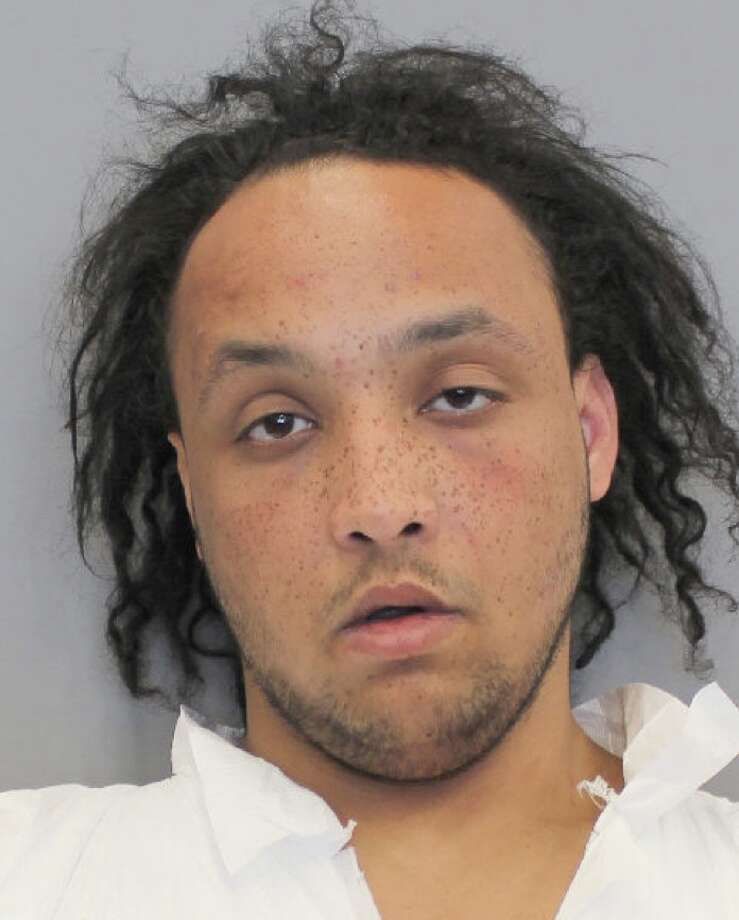 Jasper Ethan Linbrugger, 23, was charged with murder for allegedly stabbing Yoel Hagos, 24, to death at 6161 Gulf Freeway on March 21, 2019. Photo: Houston Police Department