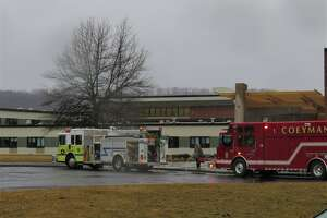Students have been sent home for the day following a gas leak at the Ravena-Coeymans-Selkirk High School Friday morning, officials said.