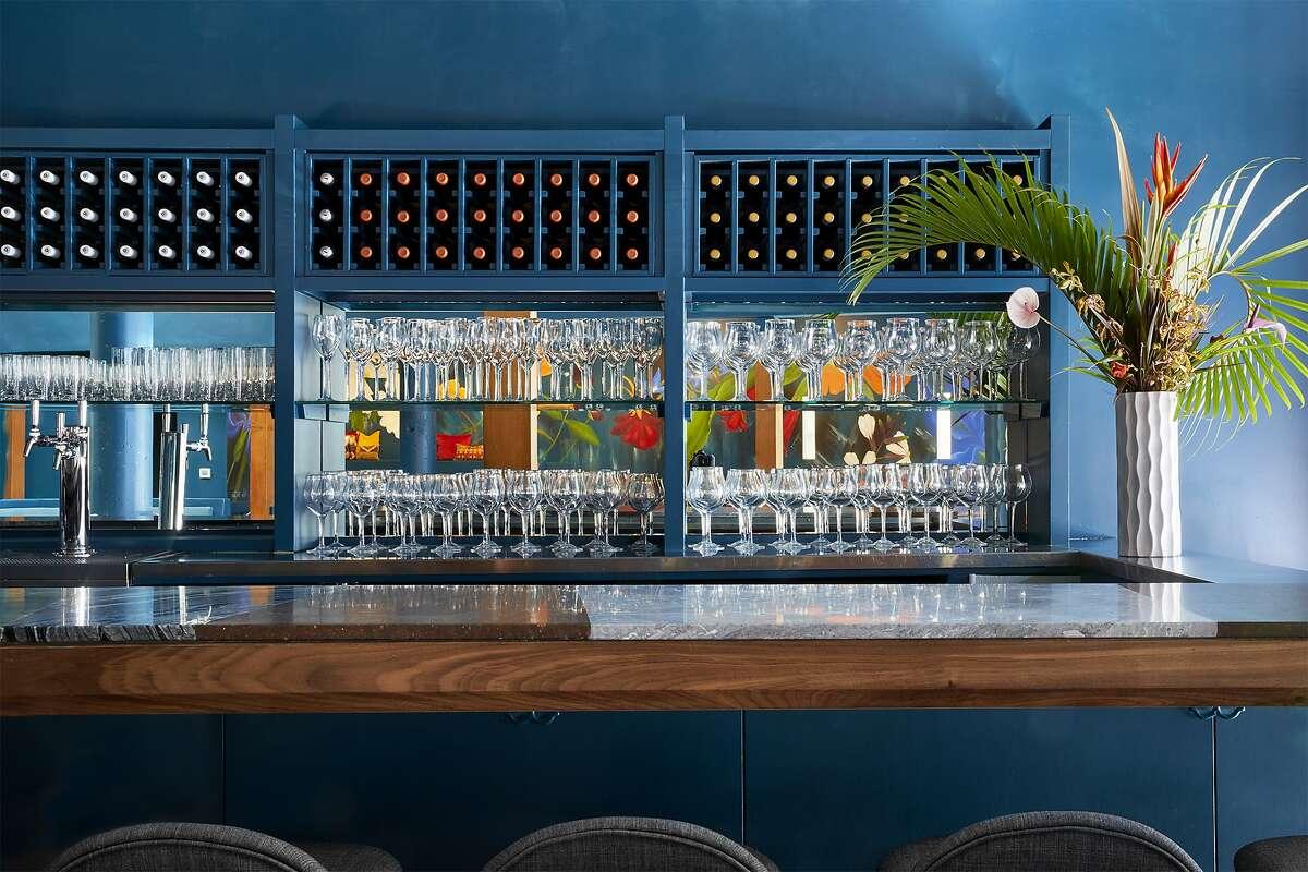 Palette's bar program focuses on wine.