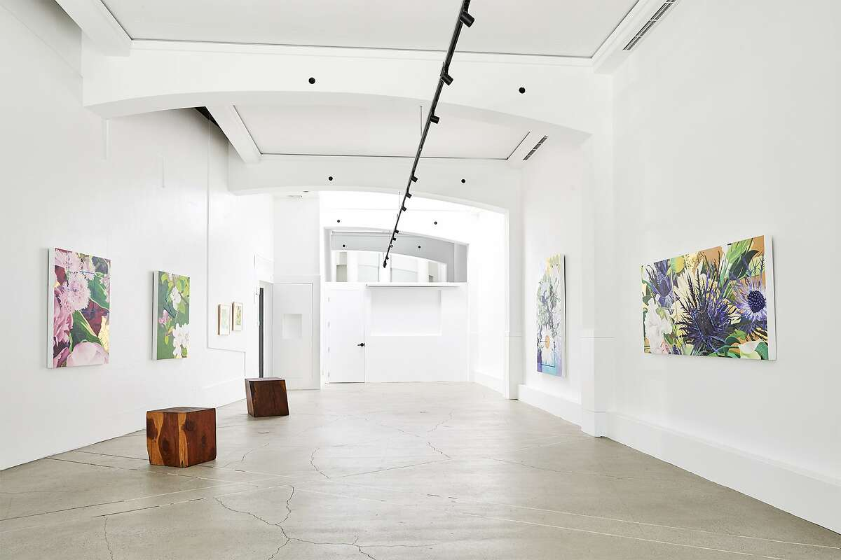 The Palette space includes an airy art gallery.