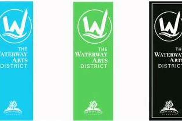 Both the Development Standards Committee and The Woodlands Township Board of Directors recommended a set of three similarly designed banners in different colors for The Waterway Arts District.