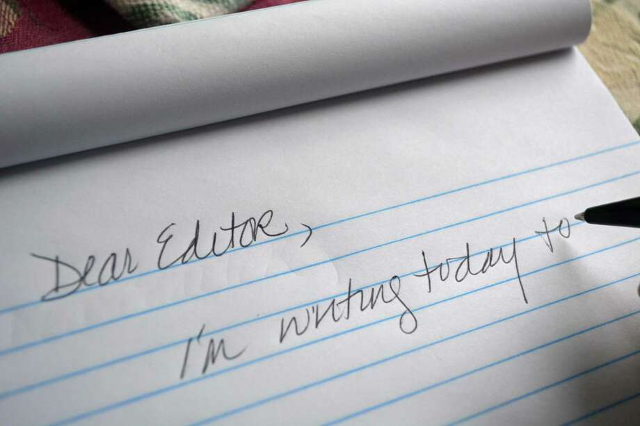 Letters to the editor Photo: Hearst Connecticut Media Photo
