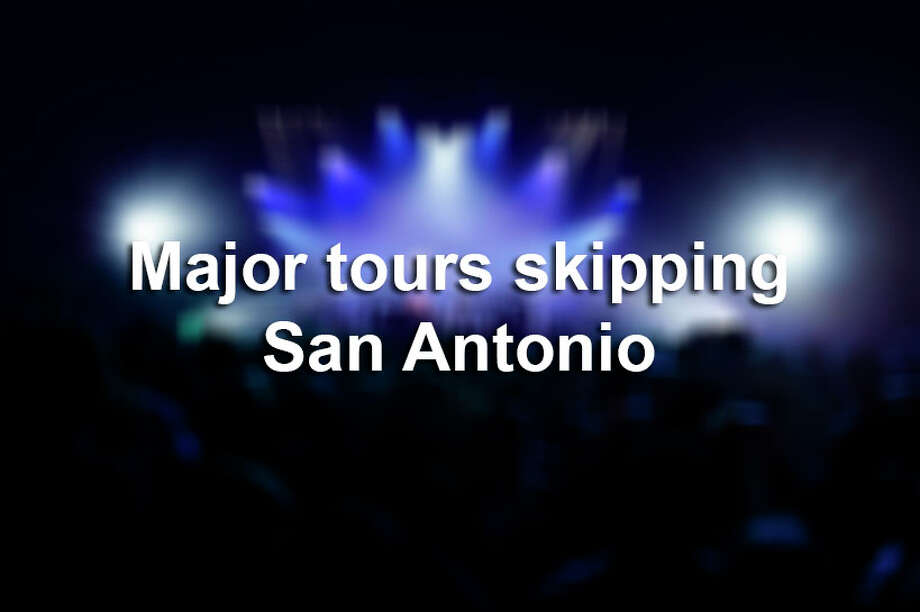 Click ahead to view 2019 tours skipping San Antonio. Photo: Flashpop/Getty Images / Brand New Images