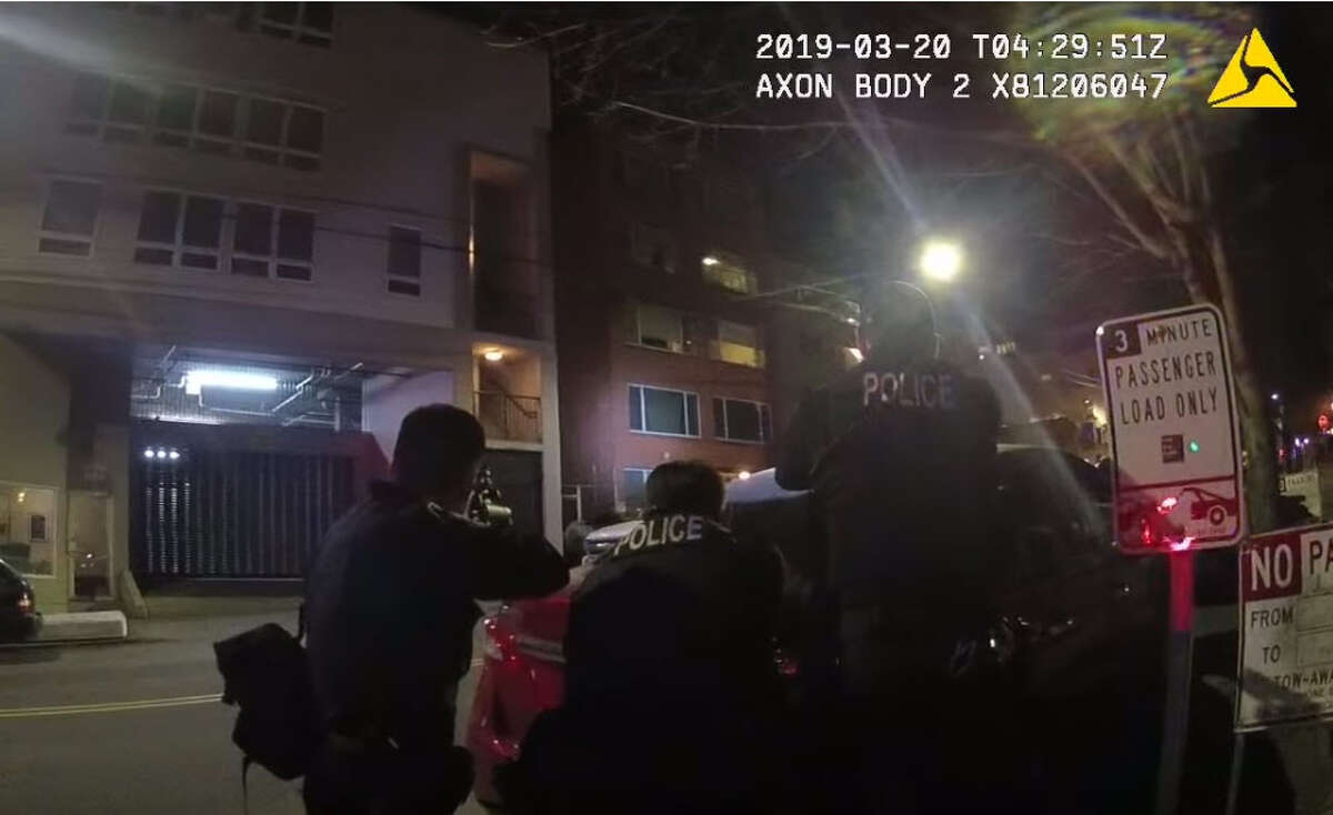 The Seattle Police Department released body-cam footage from a March 19 shooting where an officer shot a man pointing a gun at police.