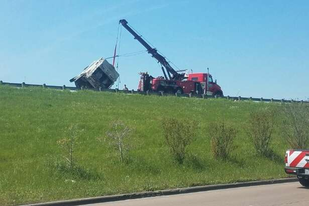 A wreck involving a garbage truck on Texas 69 and Fourth Street has caused all northbound lanes to close.