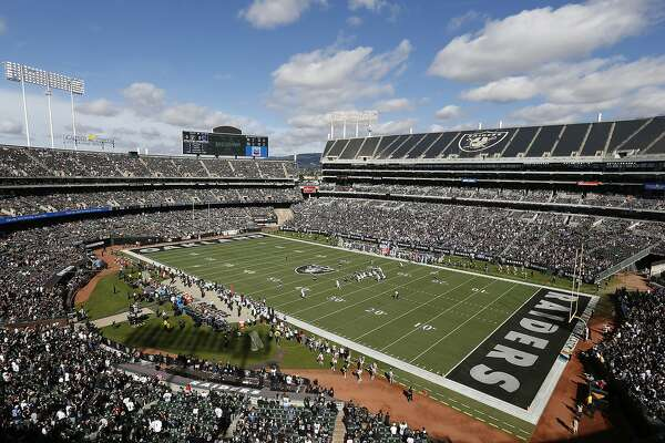 It's official — the Raiders are sticking around Oakland for at least one more season