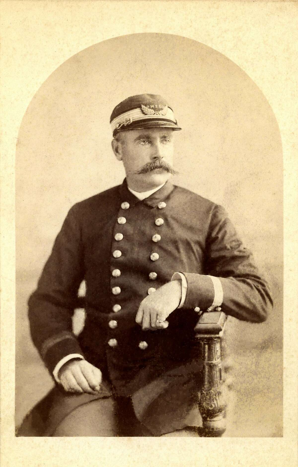 Captain William Ward, master of the SS City of Rio de Janeiro at the time of the loss.