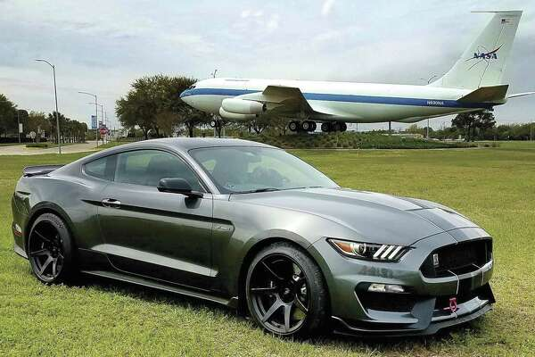 """The """"Mustangs Take Flight,"""" national car show will be at the Lone Star Flight Museum March 29 through March 31."""