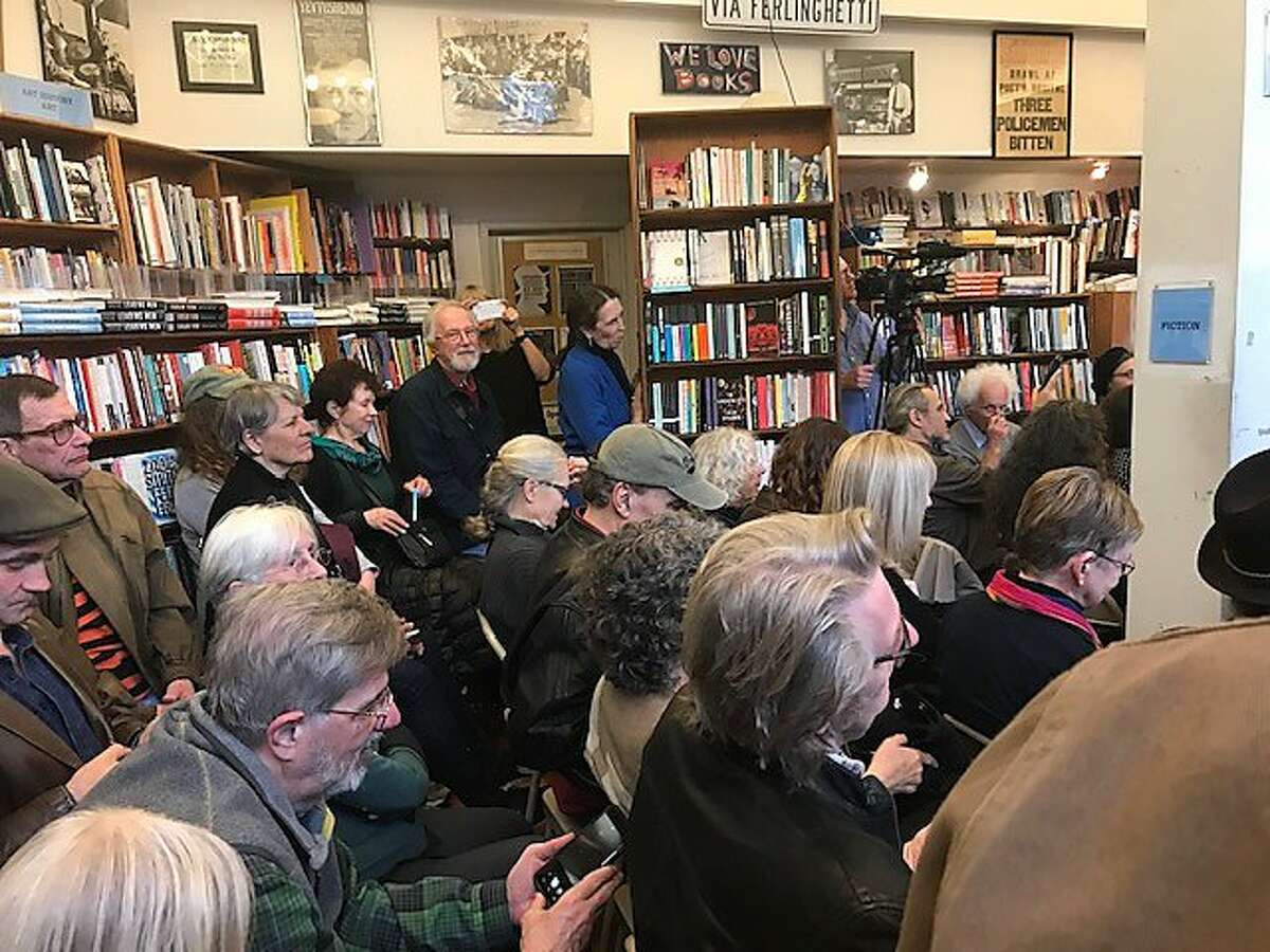 No spare room at City Lights for reading of Ferlinghetti novel