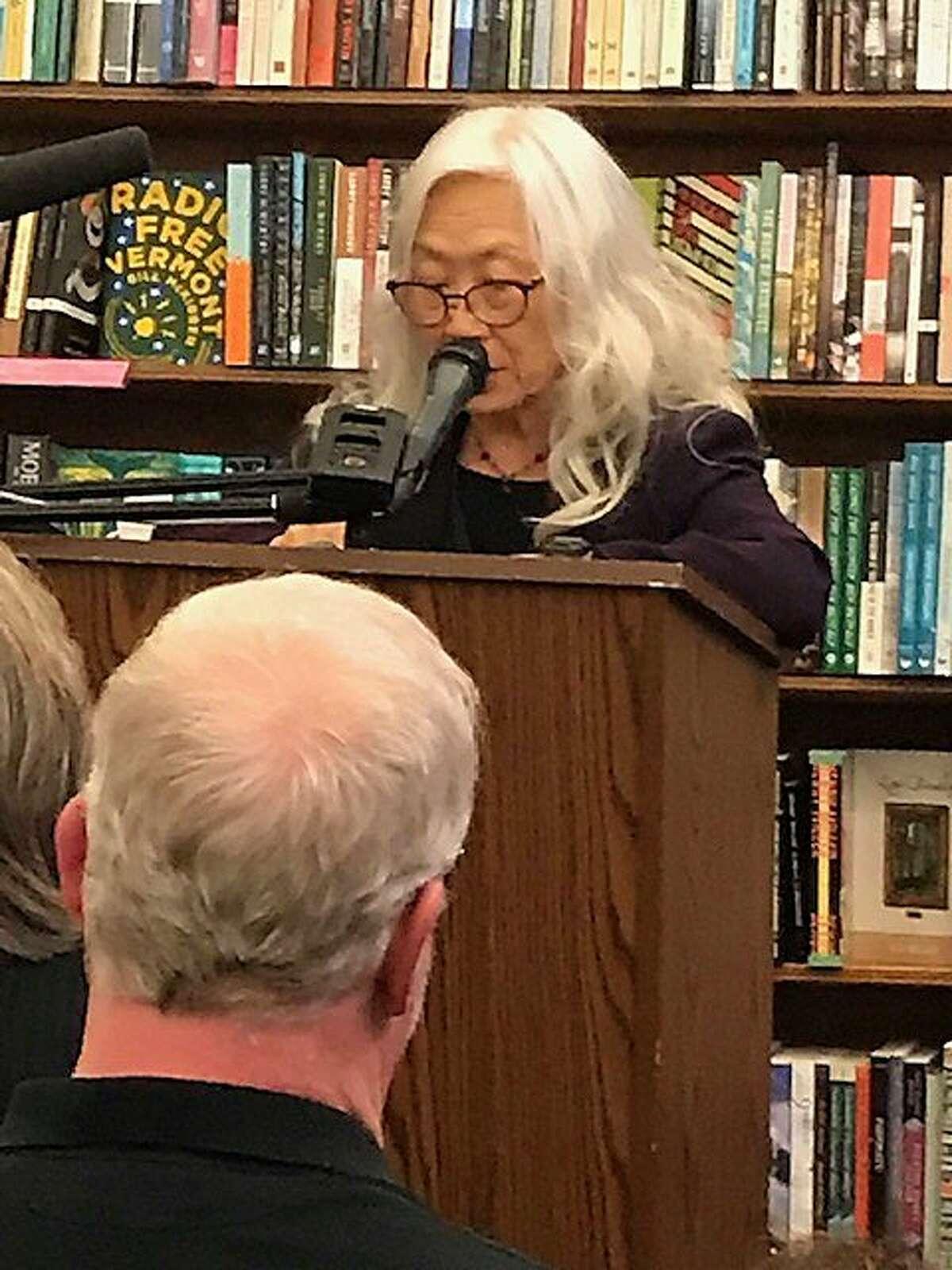 Maxine Hong Kingston reads from Ferlinghetti's 'Little Boy'
