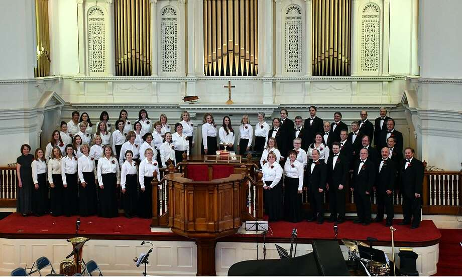 The Connecticut Master Chorale, under the direction of Tina Johns Heidrich, will present its 20th annual Spring Concert April 7 at the First Congregational Church in Danbury. Photo: CMC / Contributed Photo