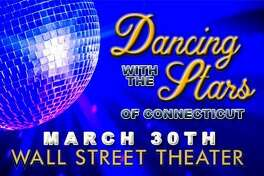 "The Wall Street Theater and Norwalk Now will host a fundraiser, ""Dancing with the Stars of Connecticut,"" March 30 at the Norwalk venue."