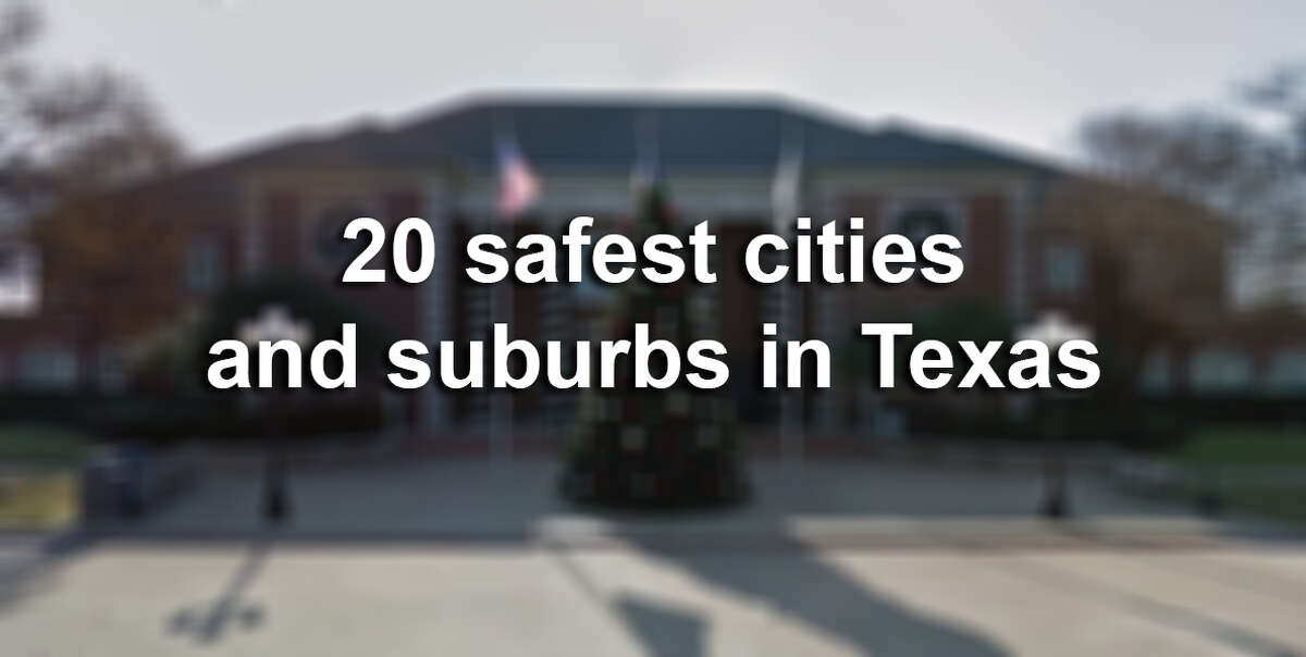 Click through the following gallery to see the safest cities and suburbs in Texas, according to a new report by safety research firm SafeWise.