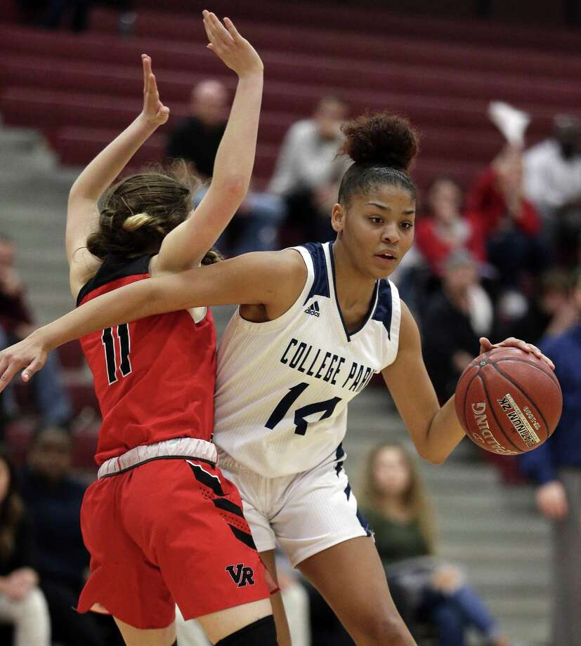 College Park forward Sandra Cannady is The Courier's Player of the Year. Photo: Michael Wyke, Houston Chronicle / Contributor / © 2019 Houston Chronicle