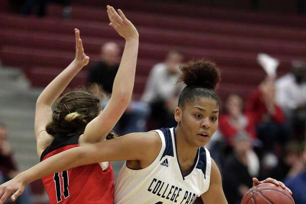 College Park forward Sandra Cannady is The Courier's Player of the Year.