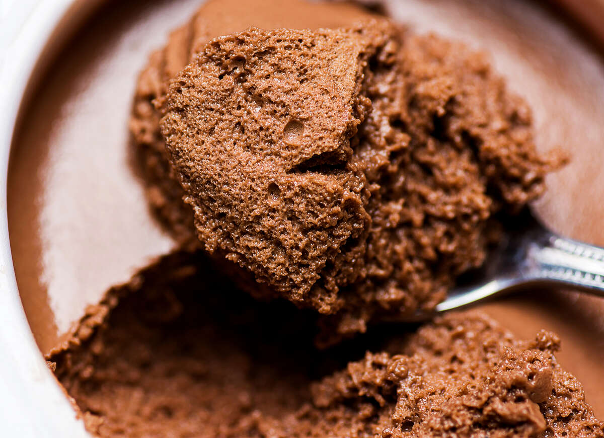 """Pharm Table will serve a chocolate avocado mousse like this one before the """"Flavors of France"""" concerts as part of the San Antonio Symphony's Symphony of Flavors."""