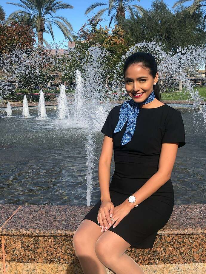 Selene Saavedra, 28, was detained at Houston's George Bush Intercontinental Airport in February 2019 after flying to Mexico with Mesa Airlines. She has a permit for immigrants who came to the United States illegally as children. Photo: Courtesy David Watkins