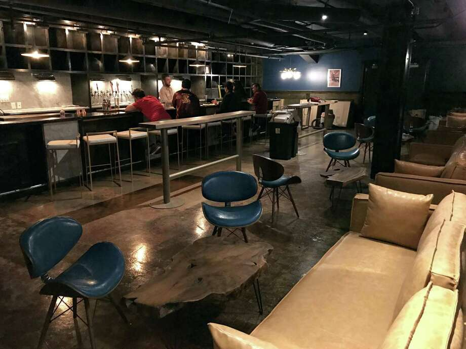 The new cocktail lounge Jet-Setter is set to open April 1 at 229 E. Houston St. downtown. downtown. Photo: Paul Stephen /Staff