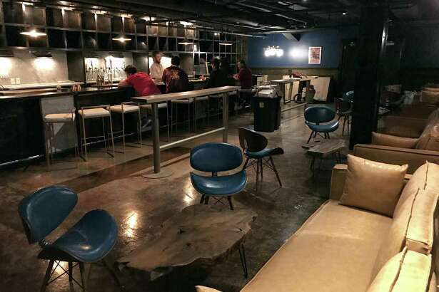 The new cocktail lounge Jet-Setter is set to open April 1 at 229 E. Houston St. downtown. downtown.