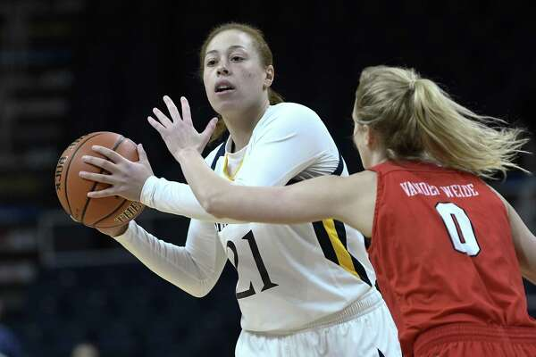 Jen Fay and the Quinnipiac women's basketball team take on South Dakota State on Saturday in the opening round of the NCAA tournament.
