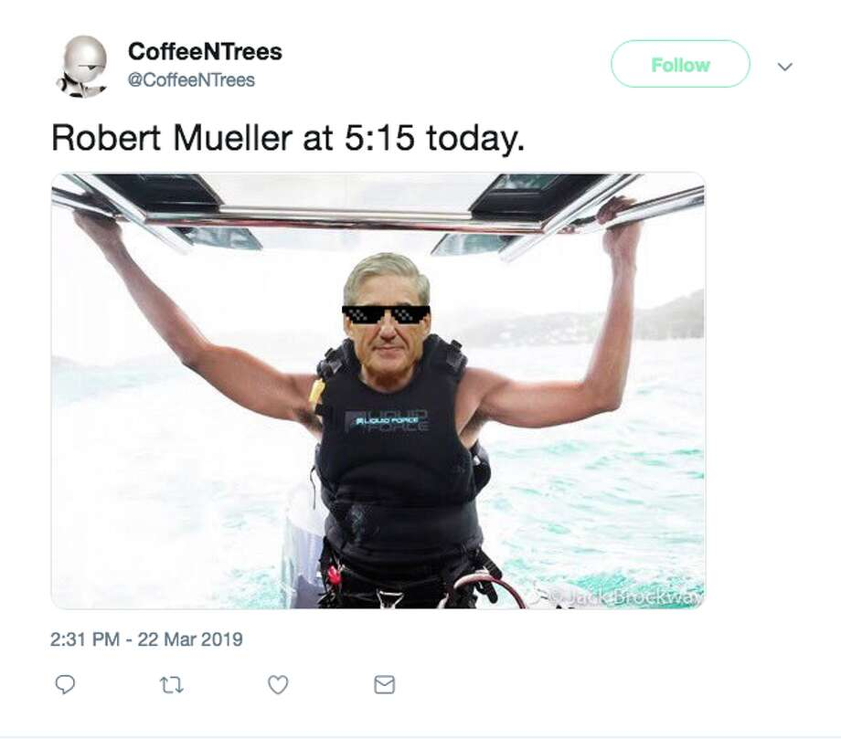 Twitter reacts to the news that Robert Mueller delivered his investigation to the U.S. Attorney General on Friday. Photo: Twitter Screenshot