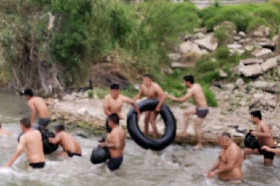 Laredo Border Patrol said agents apprehended 16 undocumented immigrants along the Rio Grande Thursday who were attempting to enter the U.S.