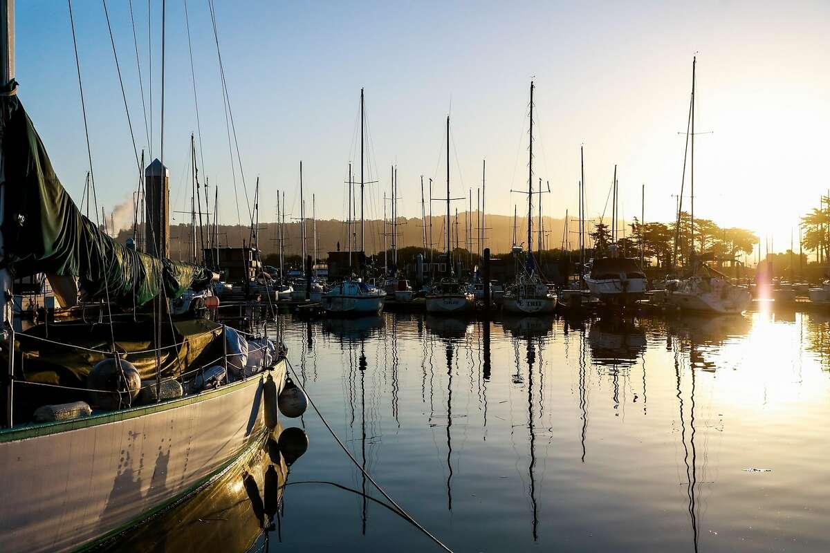 The Berkeley Marina in Berkeley, California, on Thursday, March 21, 2019.