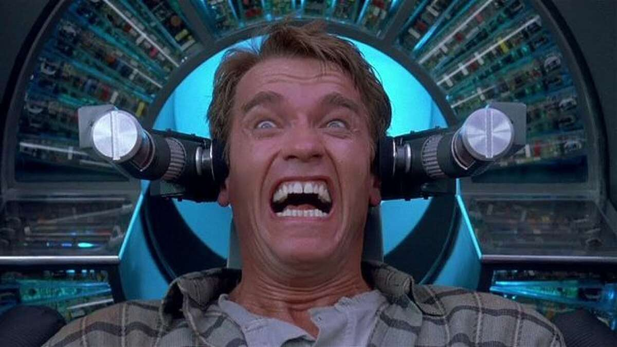 Total Recall (June 1, 1990) Long before The Matrix planted the idea of false realities in our minds, Total Recall put moviegoers in the awkward position of questioning whether to trust their own memories and (supposedly) lived experiences. The 1990 science fiction action film starring Arnold Schwarzenegger was one of the most expensive films ever made at the time of its release, with a budget of $50-65 million.