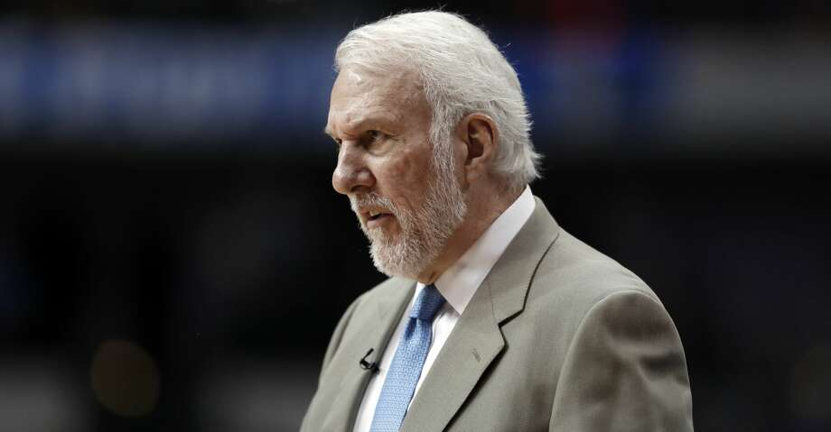 PHOTOS: Rockets game-by-game San Antonio Spurs coach Gregg Popovich watches play in the closing minutes of the team's NBA basketball game against the Dallas Mavericks in Dallas, Tuesday, March 12, 2019. (AP Photo/Tony Gutierrez) Browse through the photos to see how the Rockets have fared in each game this season. Photo: Tony Gutierrez/Associated Press