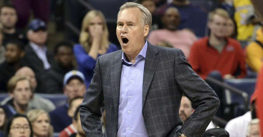 PHOTOS: Rockets game-by-game Houston Rockets coach Mike D'Antoni reacts during overtime of the team's NBA basketball game against the Memphis Grizzlies on Wednesday, March 20, 2019, in Memphis, Tenn. (AP Photo/Brandon Dill) Browse through the photos to see how the Rockets have fared in each game this season. Photo: Brandon Dill/Associated Press
