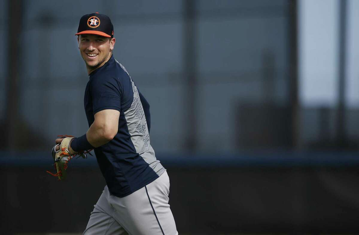 Alex Bregman expects to have many more smiles with the Astros after making his $100 million contract extension official on Friday.