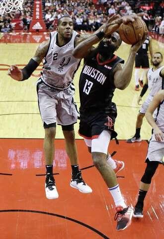 79274d74672a James Harden s 61 sends Spurs to defeat - San Antonio Express-News
