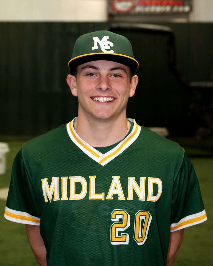 Midland College baseball player Ethan Mann Photo: Midland College Athletics