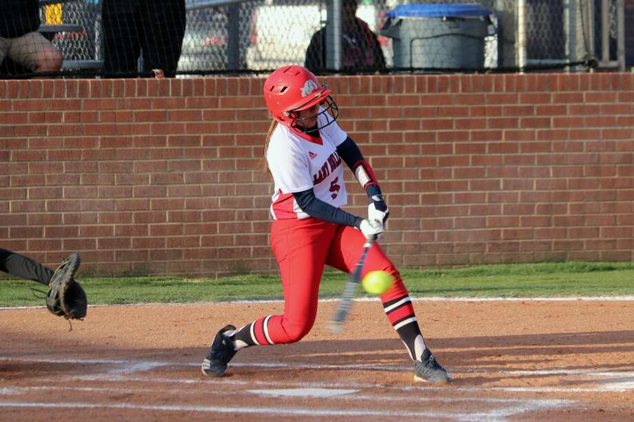 The Plainview Lady Bulldogs softball team beat out bad weather and were able to earn a 7-2 win over the Lubbock High Lady Westerners during District 3-5A action on Friday in Plainview. Photo: Courtesy Of Curtis Bailey