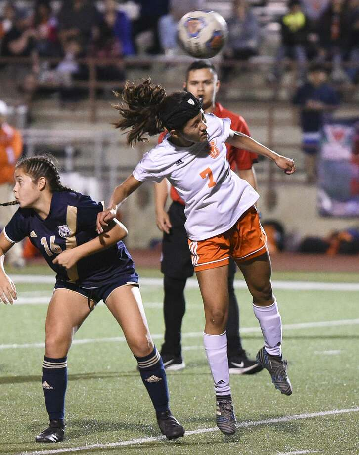 The TAMIU women's soccer team announced Tuesday the signing of United's Kimberly Garcia. Photo: Danny Zaragoza /Laredo Morning Times File / Laredo Morning Times
