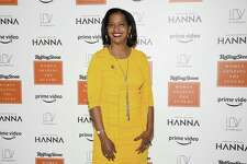 Rep. Jahana Hayes, D-Conn., attends Rolling Stone's Women Shaping the Future brunch at The Altman Building on Wednesday, March 20, 2019, in New York. Hayes will attend former President Barack Obama's gathering for freshmen lawmakers on Monday.