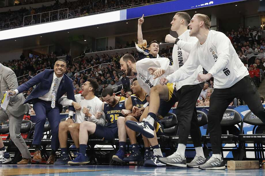 Irvine, Liberty pull SAP Center shockers in NCAA Tournament