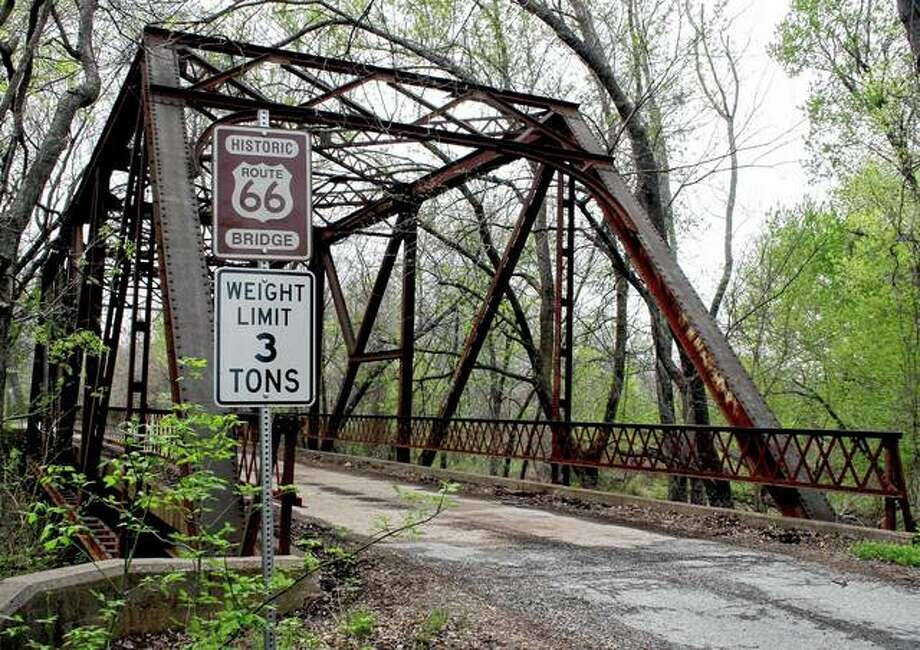A rusted bridge sits in March 2007 along old Route 66 in Chelsea, Oklahoma. An endangered federal program that's helped preserve the historic Route 66 Highway for two decades is issuing its last call for grants in April. Photo: Mel Root | Associated Press