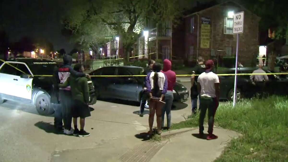 Police were investigating a shooting in northwest Houston that left an 18-year-old male dead Friday evening after a suspect walked up behind him on the street and opened fire.