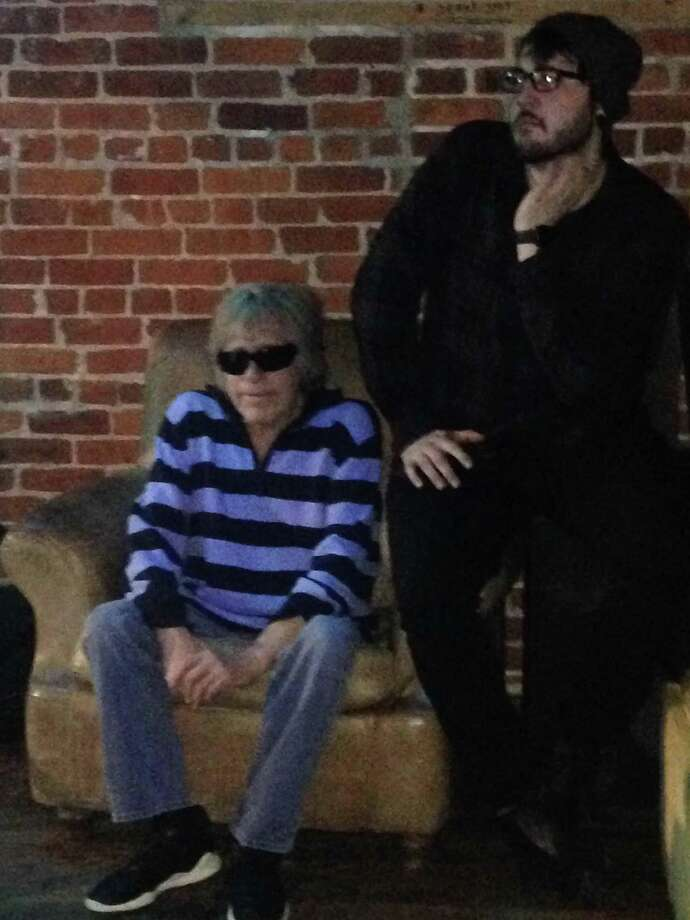 Weston resident and Grammy-winning singer Jose Feliciano at Peaches Southern Pub & Juke Joint in Norwalk in March. Photo: Contributed /