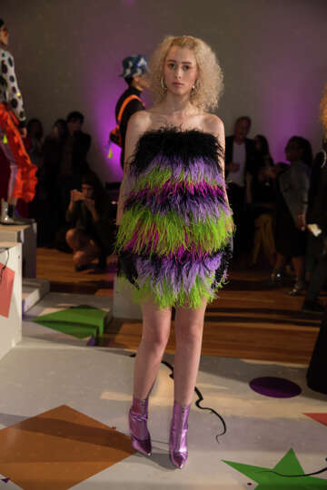 Photos Art And Fashion Mingled At Posh Mcnay Show Friday Houstonchronicle Com