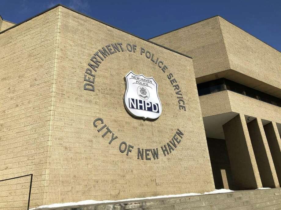 The New Haven Police Department. Photo: Ben Lambert / Hearst Connecticut Media