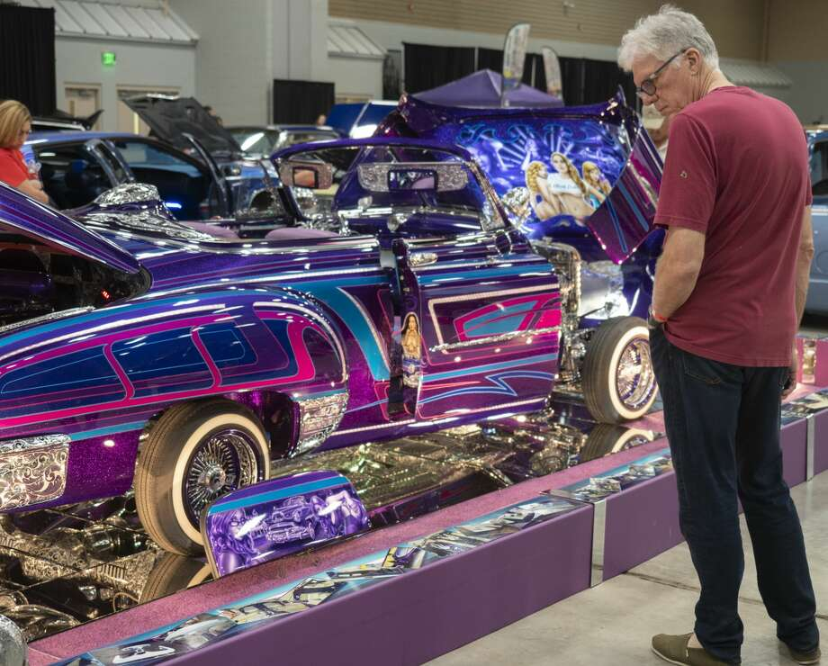 Cars and trucks were on display 03/23/2019 filling the Midland County Horseshoe at the annual West Texas BLVD Nights carshow. Tim Fischer/Reporter-Telegram Photo: Tim Fischer