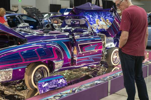 Cars and trucks were on display 03/23/2019 filling the Midland County Horseshoe at the annual West Texas BLVD Nights carshow. Tim Fischer/Reporter-Telegram