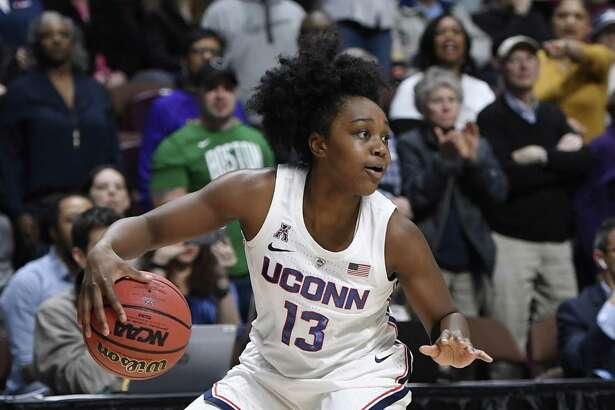 Christyn Williams and UConn take on Buffalo on Sunday in an NCAA Tournament second-round game in Storrs.