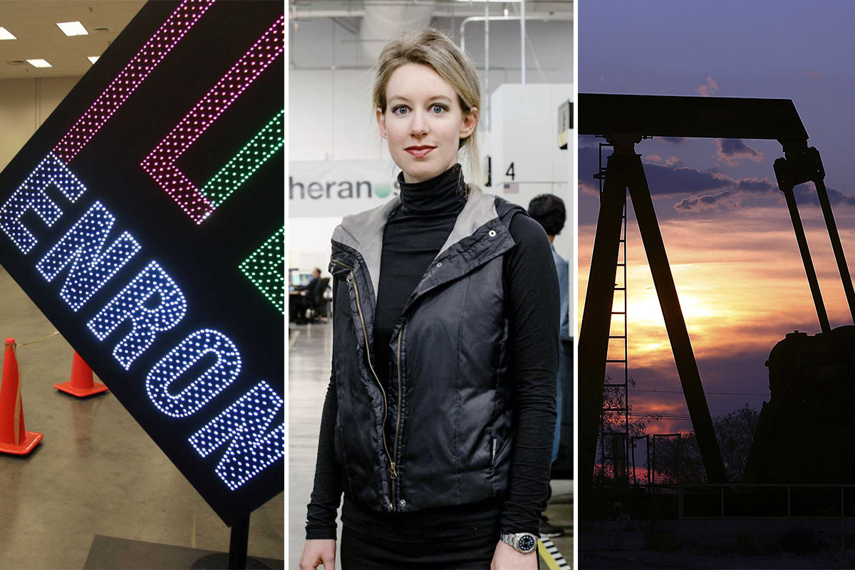 Alleged billionaire fraudster Elizabeth Holmes has Houston ties. These are the city's biggest scams