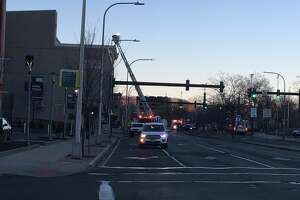 Firefighters responded to a fire at 105 Court St. Saturday.