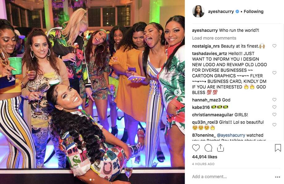 Ayesha Curry had a celebrity-filled bash for her 30th birthday in March 2019. Photo: Screenshot Via Instagram