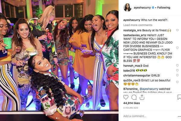 Ayesha Curry had a celebrity-filled bash for her 30th birthday in March 2019.